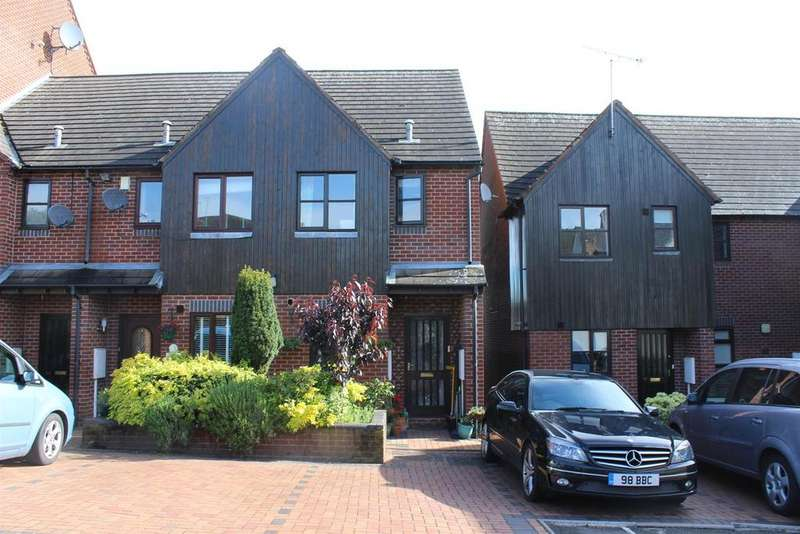 2 Bedrooms End Of Terrace House for sale in Millers Wharf, Polesworth, Tamworth