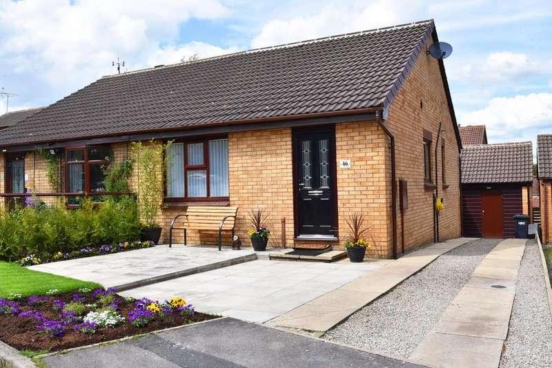 2 Bedrooms Semi Detached Bungalow for sale in Pennywort Grove, Harrogate