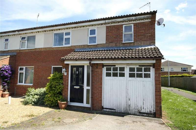 4 Bedrooms Semi Detached House for sale in Cygnet Close, Sleaford, Lincolnshire, NG34