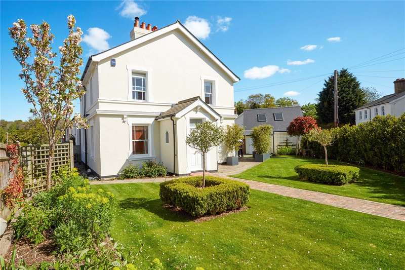 4 Bedrooms Detached House for sale in Springfield Road, Groombridge, Tunbridge Wells, East Sussex, TN3