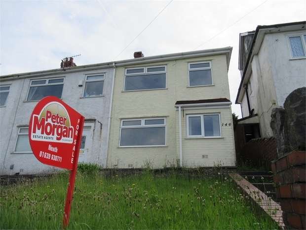 3 Bedrooms End Of Terrace House for sale in Mansel Road, Bonymaen, Swansea, West Glamorgan