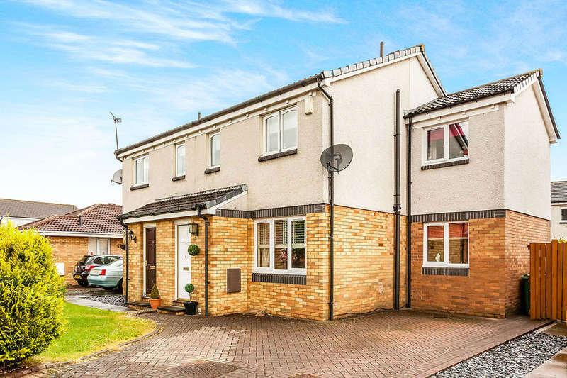 3 Bedrooms Semi Detached House for sale in Claymore Drive, Stirling, FK7