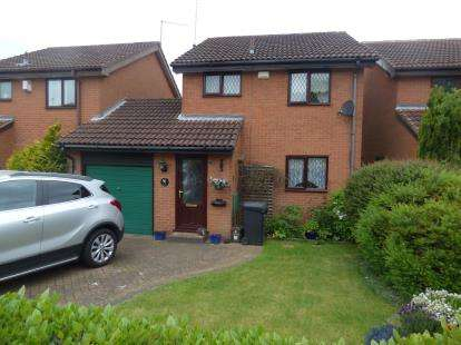 3 Bedrooms Detached House for sale in Wardlow Close, West Hunsbury, Northampton, Northamptonshire