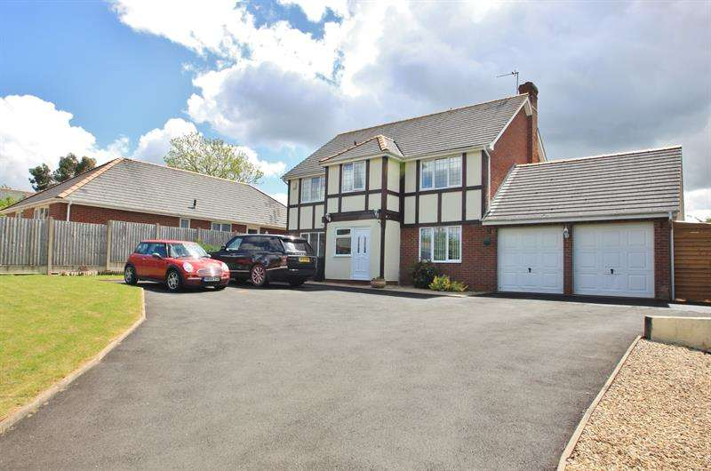 5 Bedrooms Detached House for sale in St Owens Cross, Hereford