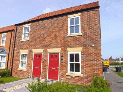 2 Bedrooms Semi Detached House for sale in Hazel Walk, Alford