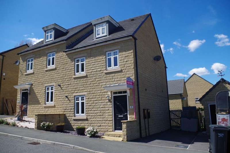 3 Bedrooms Semi Detached House for sale in Fountain Head Road, Fountain Head Village, Halifax HX2