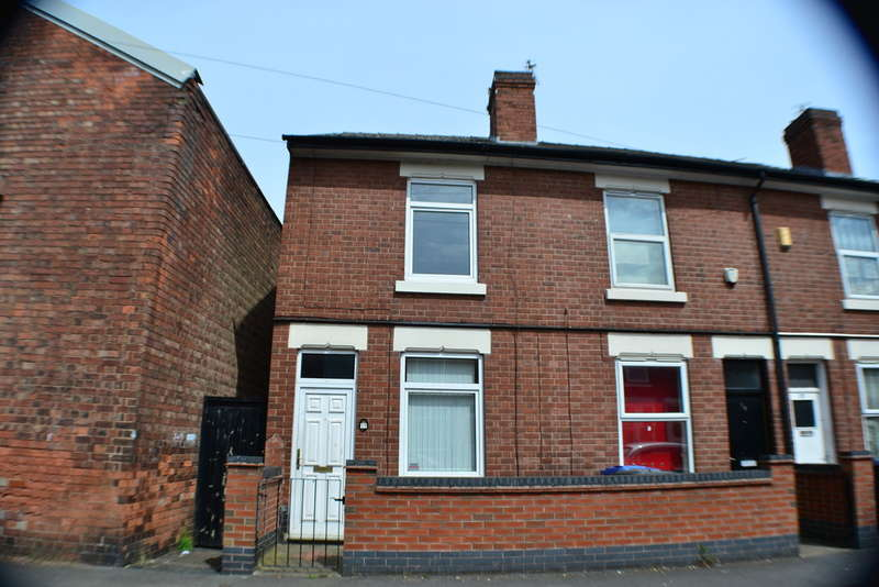 2 Bedrooms End Of Terrace House for sale in Grosvenor Street, Derby