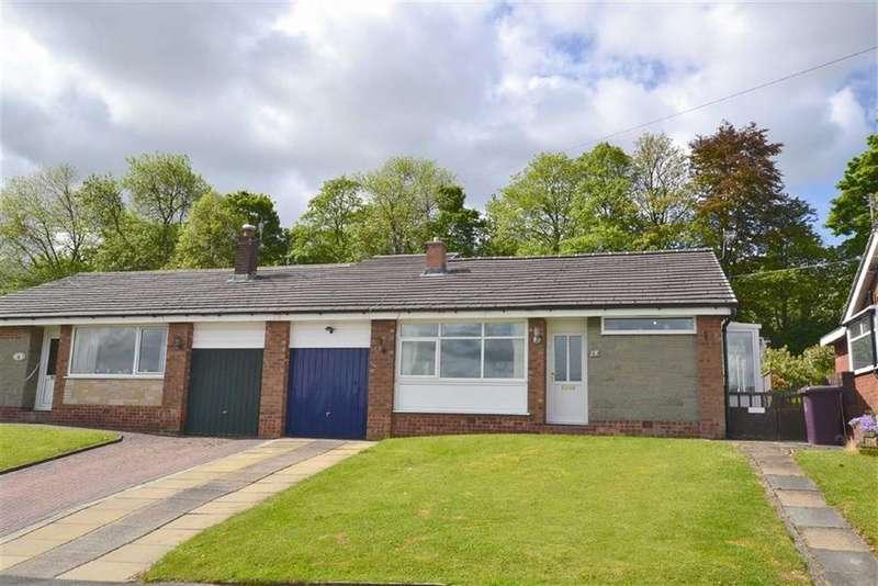 3 Bedrooms Semi Detached Bungalow for sale in Wellfield Drive, Burnley, Lancashire