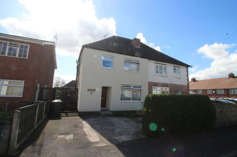 3 Bedrooms Semi Detached House for sale in William Road, Stapleford, Nottingham, NG9
