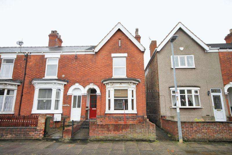 3 Bedrooms End Of Terrace House for sale in ST AUGUSTINE AVENUE, GRIMSBY