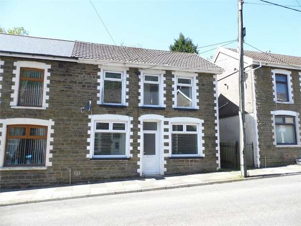 2 Bedrooms Semi Detached House for sale in Walters Road, Ogmore Vale, Bridgend, Mid Glamorgan
