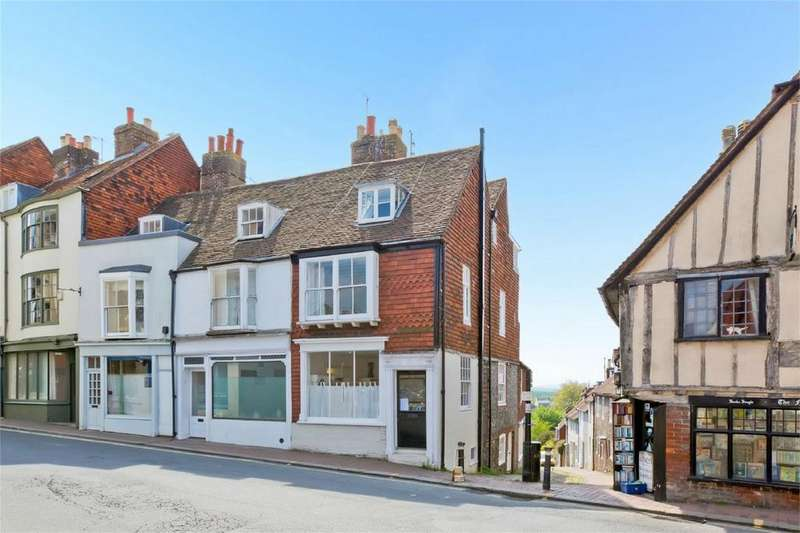 3 Bedrooms End Of Terrace House for sale in High Street, Lewes, East Sussex