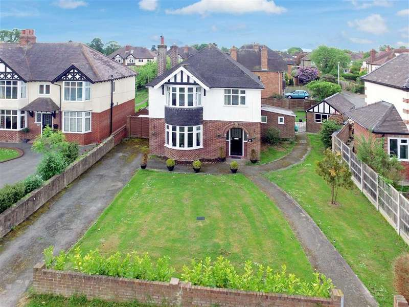 3 Bedrooms Detached House for sale in Shelton Road, Shrewsbury, Shropshire