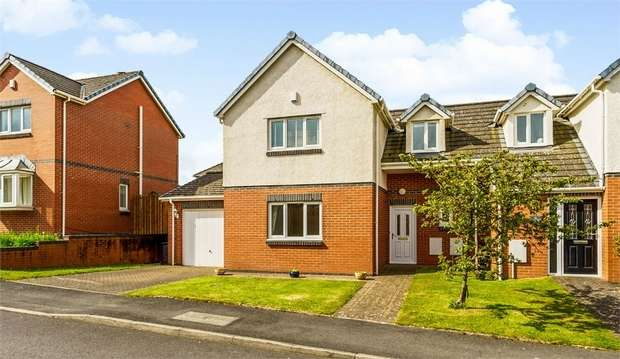 3 Bedrooms Semi Detached House for sale in Wentworth Park, Stainburn, Workington, Cumbria