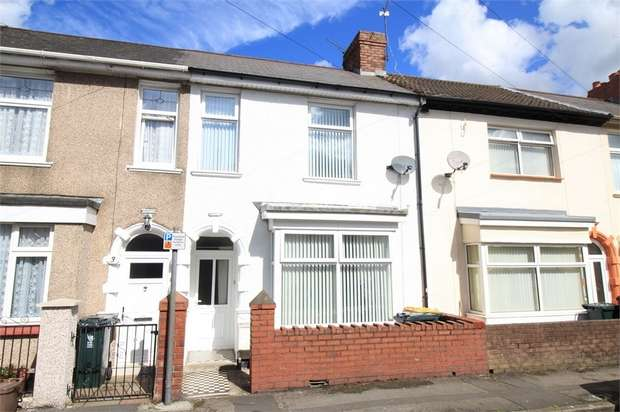 3 Bedrooms Terraced House for sale in Hamilton Street, NEWPORT