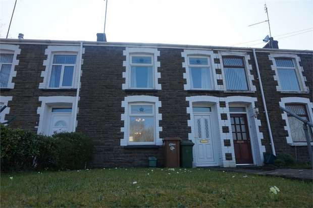 3 Bedrooms Terraced House for sale in Woodland Terrace, Argoed, BLACKWOOD, Caerphilly