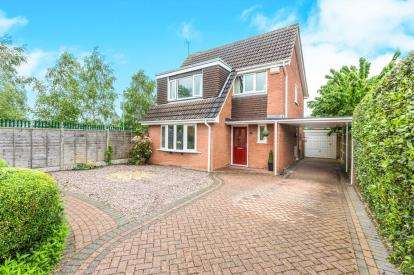 4 Bedrooms Detached House for sale in Nunnery Lane, Nunnery Wood, Worcester, Worcestershire