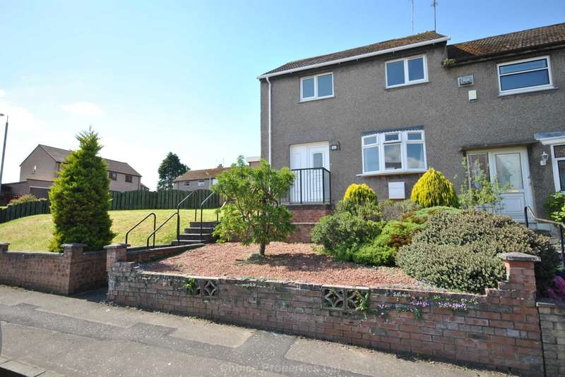 2 Bedrooms End Of Terrace House for sale in Caledonia Road, Ayr, KA7 3HU