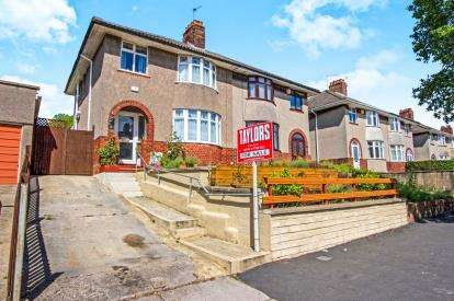 3 Bedrooms Semi Detached House for sale in Monks Park Avenue, Horfield, Bristol, City Of Bristol