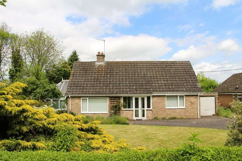 2 Bedrooms Detached Bungalow for sale in The Green, Weston Colville