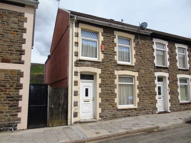 3 Bedrooms End Of Terrace House for sale in Kenry Street, TONYPANDY