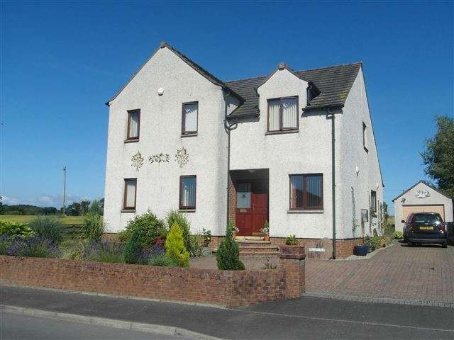4 Bedrooms Detached House for sale in Glencaple Road, Glencaple , Dumfries, DG1 4RD