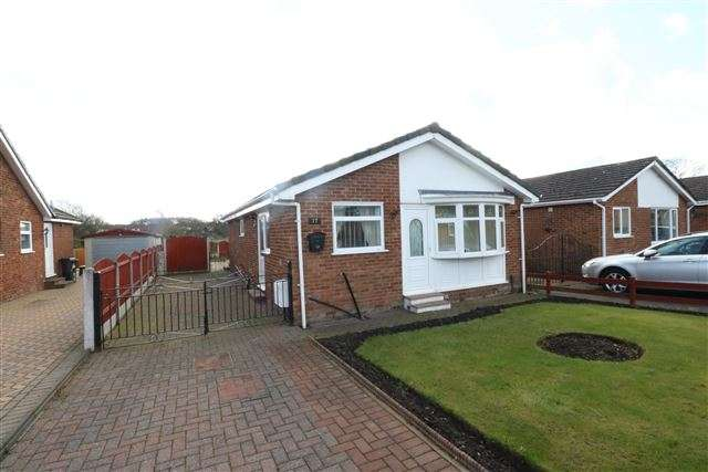 2 Bedrooms Bungalow for sale in Hebden Avenue, Carlisle, Cumbria, CA2 6TW