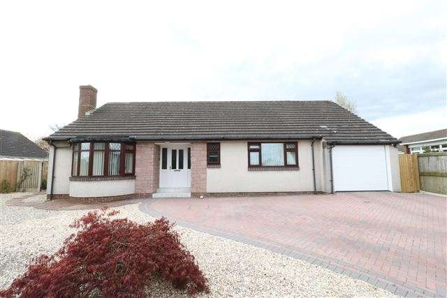 3 Bedrooms Bungalow for sale in Longlands Road, Carlisle, Cumbria, CA3 9AE