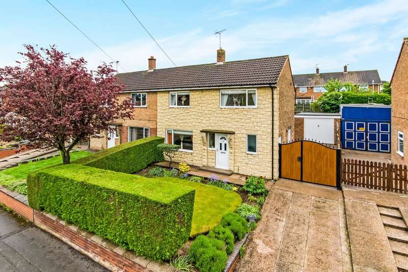 3 Bedrooms Semi Detached House for sale in Rugby Road, Rainworth, Mansfield, NG21