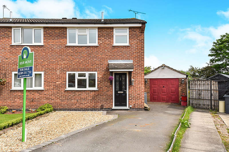 3 Bedrooms Semi Detached House for sale in Monteith Place, DERBY, DE74