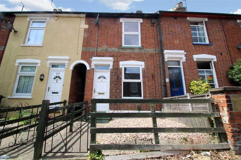 2 Bedrooms Terraced House for sale in Hervey Street, Ipswich