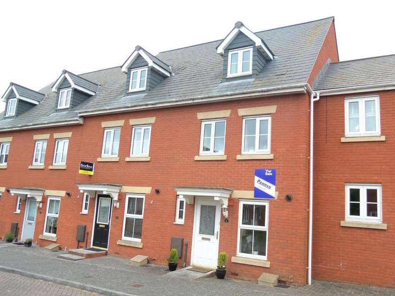 3 Bedrooms Terraced House for sale in Crown Way, Exeter