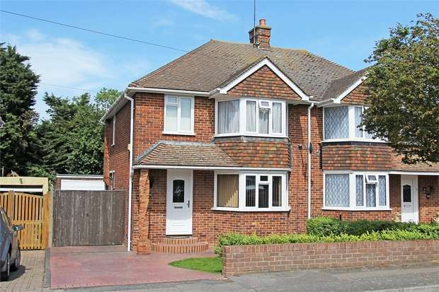 3 Bedrooms Semi Detached House for sale in Gayhurst Drive, Sittingbourne, Kent