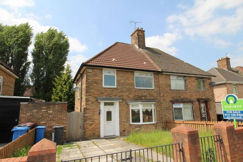 3 Bedrooms Semi Detached House for sale in Primrose Drive, Liverpool, L36