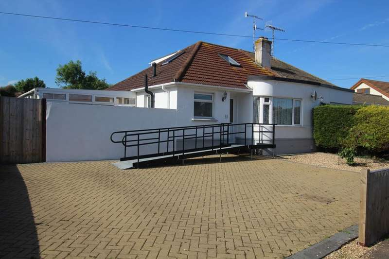 3 Bedrooms Semi Detached Bungalow for sale in Clarendon Road, Worthing, BN14