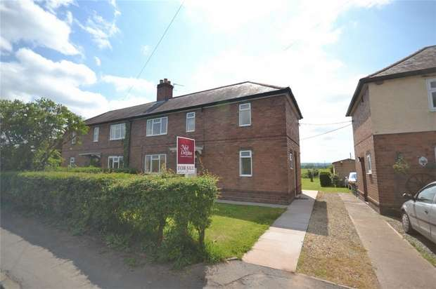 3 Bedrooms Semi Detached House for sale in Meadow Place, Kynnersley, TELFORD, Shropshire