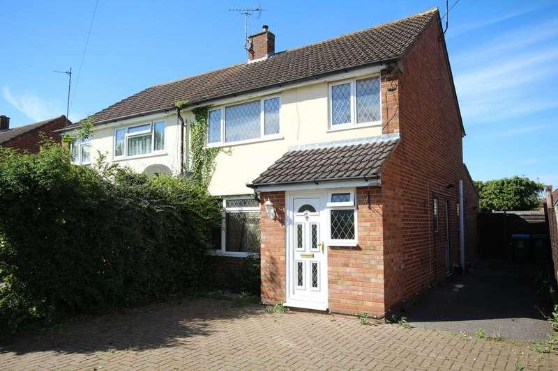 3 Bedrooms Semi Detached House for sale in Queensmead, Bedgrove