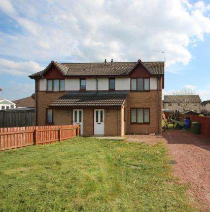 3 Bedrooms Semi Detached House for sale in Mauchline Road, Mossblown