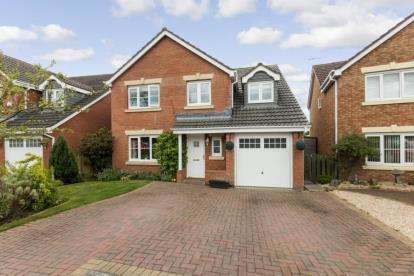 5 Bedrooms Detached House for sale in Globe Park, Broxburn