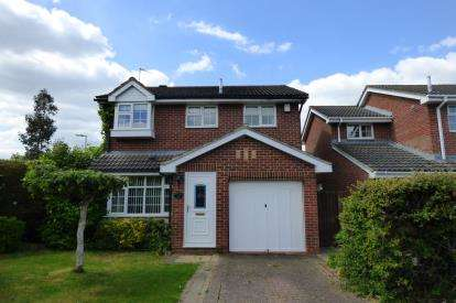 4 Bedrooms Detached House for sale in Broad Leys Road, Barnwood, Gloucester, Gloucestershire