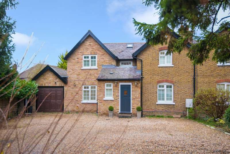 4 Bedrooms Semi Detached House for sale in Field End Road, Pinner