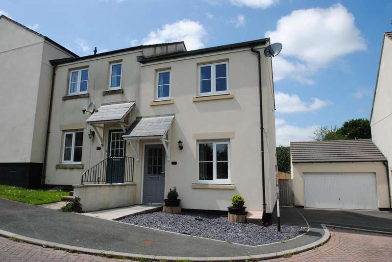 2 Bedrooms Semi Detached House for sale in Cornflower Close, Launceston