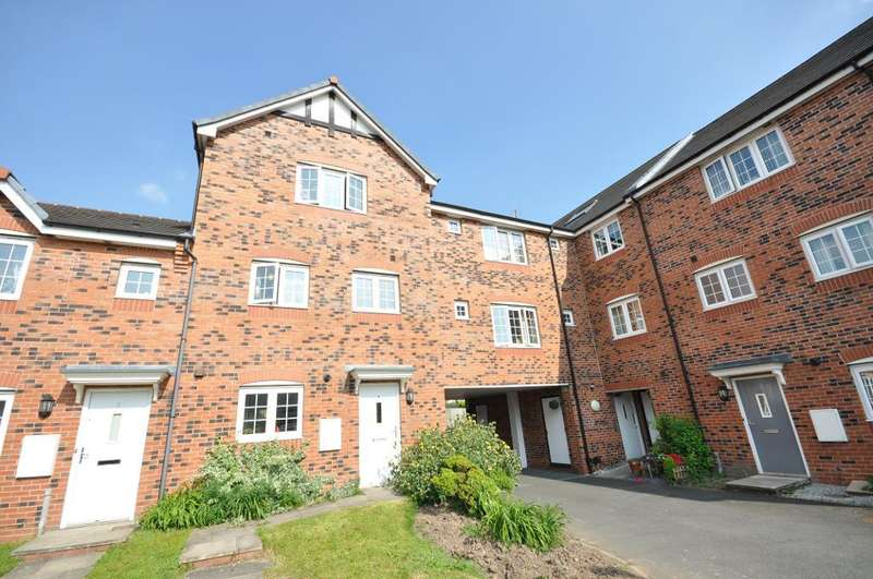 4 Bedrooms Town House for sale in Hornbeam Close, Wesham, Preston, Lancashire, PR4 3ES