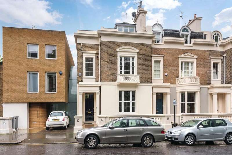 4 Bedrooms Terraced House for sale in Lansdowne Walk, Holland Park, London