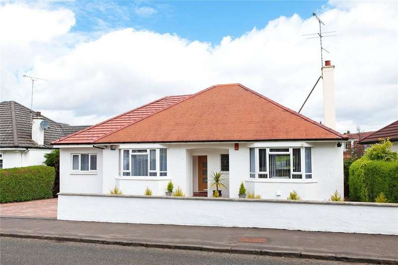 3 Bedrooms Detached Bungalow for sale in Broomvale Drive, Newton Mearns, Glasgow