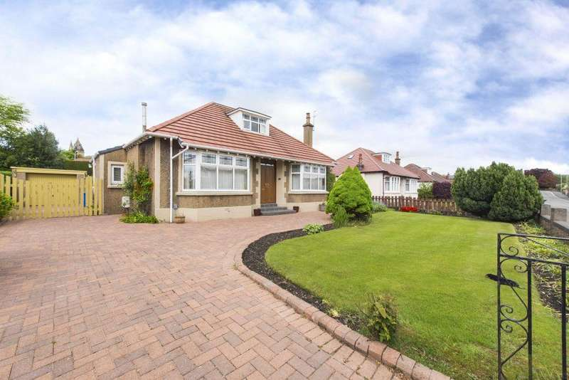 3 Bedrooms Detached Bungalow for sale in 46 Kirkintilloch Road, Lenzie, Glasgow, G66 4RL