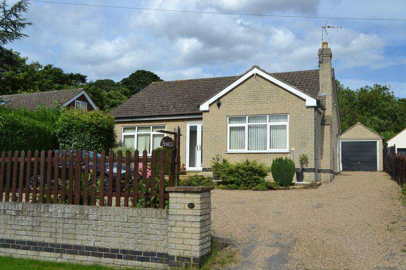 3 Bedrooms Detached Bungalow for sale in Top Road, Worlaby