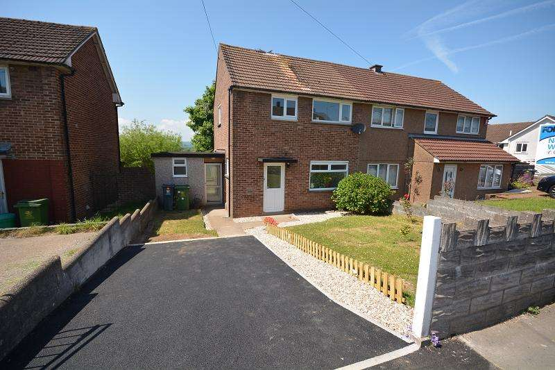 3 Bedrooms Semi Detached House for sale in Llanrumney Avenue, Llanrumney, Cardiff. CF3