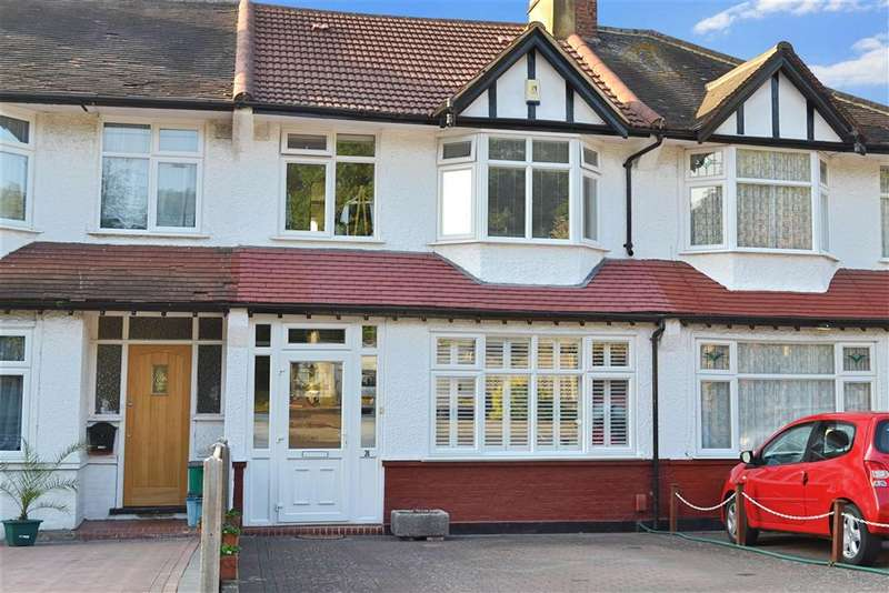 3 Bedrooms Terraced House for sale in Braemar Avenue, South Croydon, Surrey
