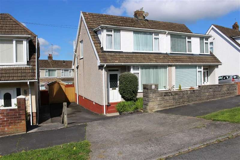 3 Bedrooms Semi Detached House for sale in Woodcote, Killay